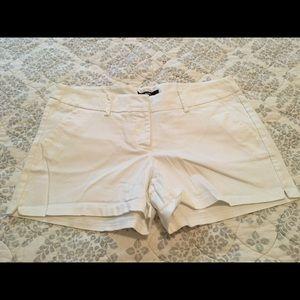 Mossimo White Shorts